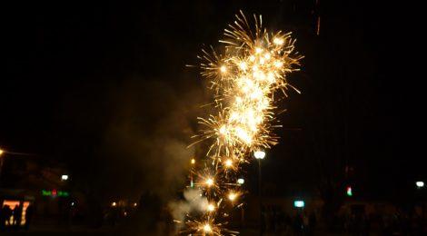 Ohňostroj na Nový rok