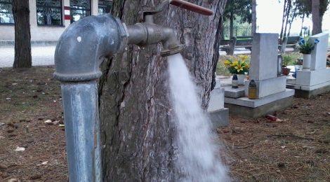 Oprava studne na cintoríne