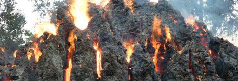 Požiar slamy pri prechodnom