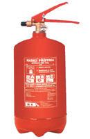 Práškové hasiace prístroje