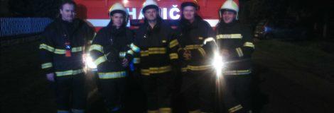 Požiar RD v Červeníku