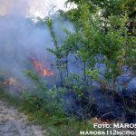 Požiar pri železničnom moste